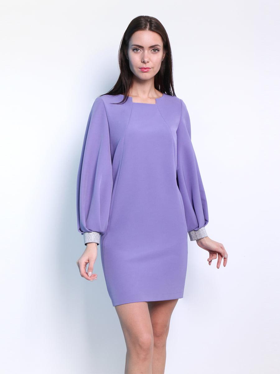 Платье сиреневого цвета | 5343297