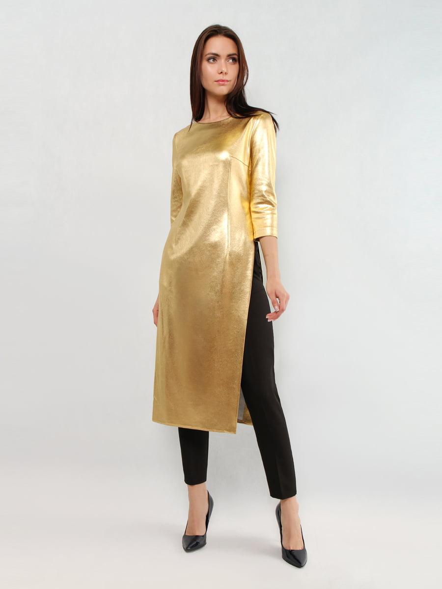 Туника золотистого цвета | 5343320