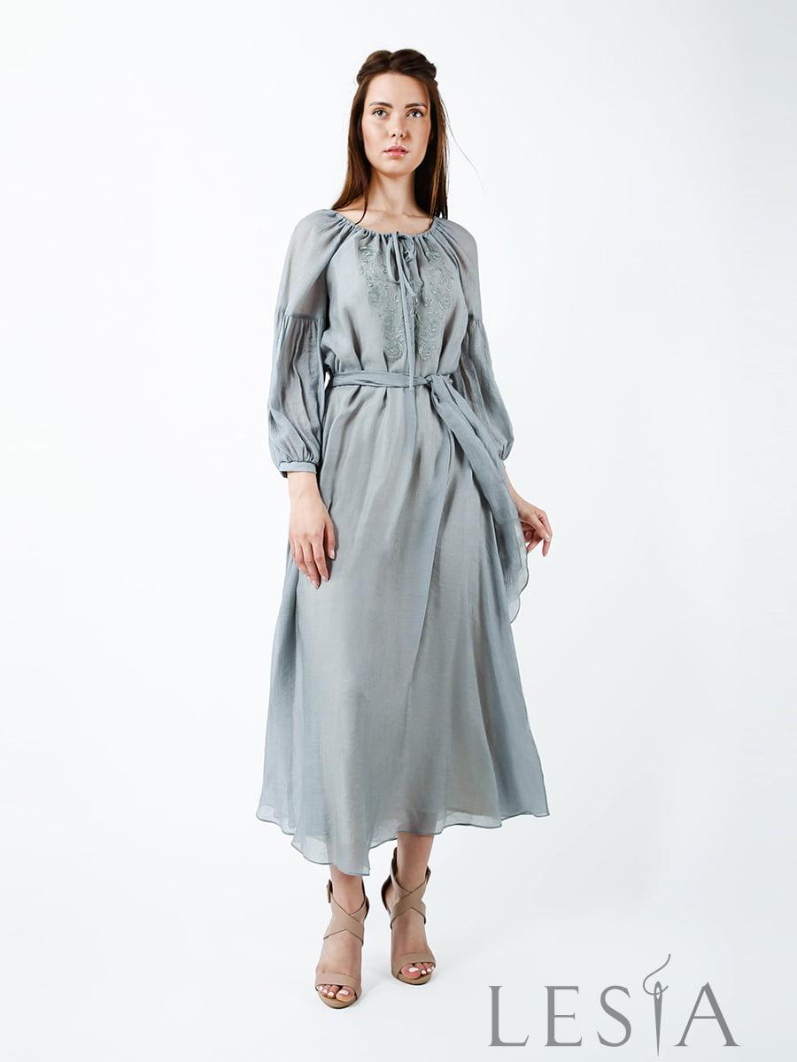 Платье серое   5483703