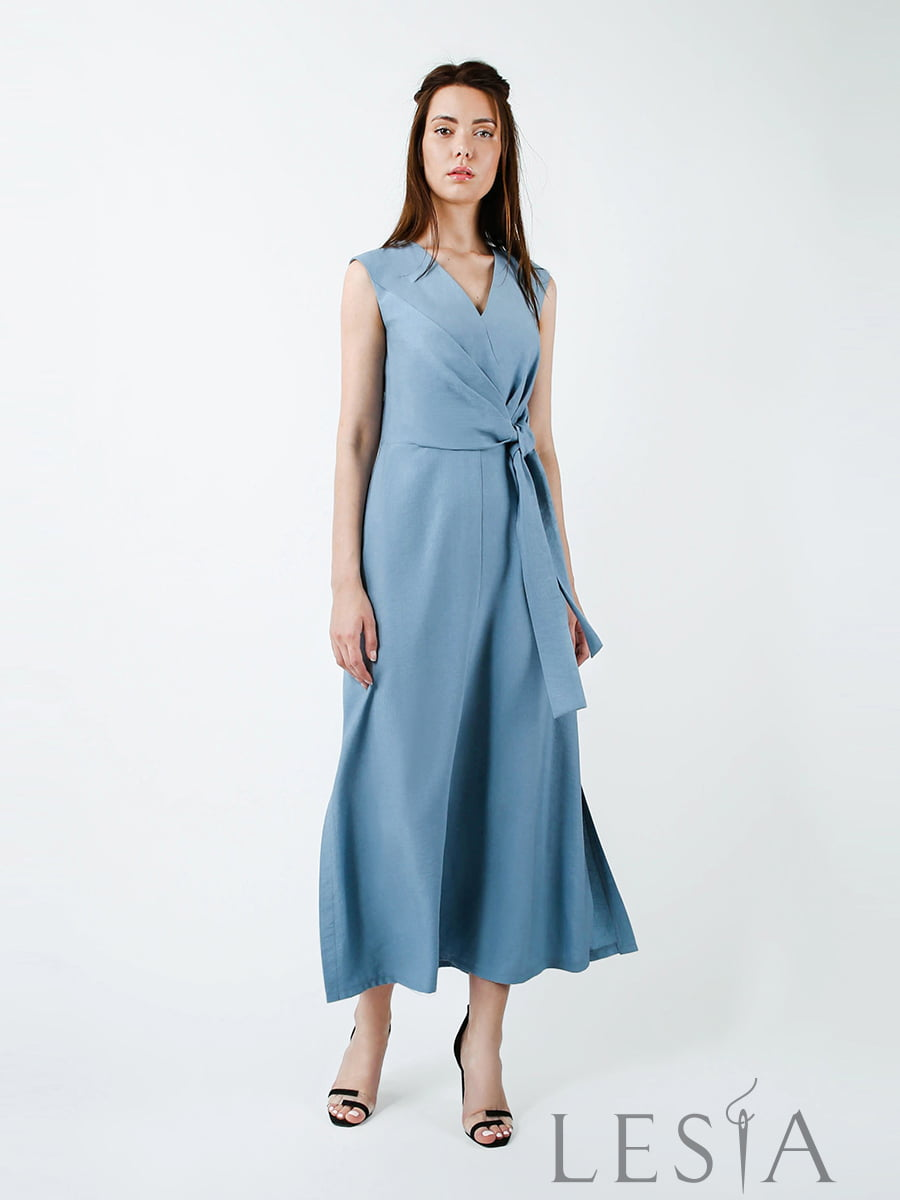 Платье голубое | 5483721