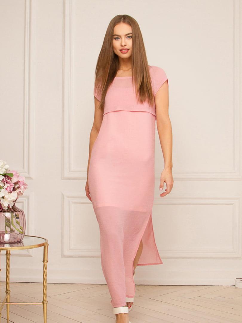 Платье розовое   5508837