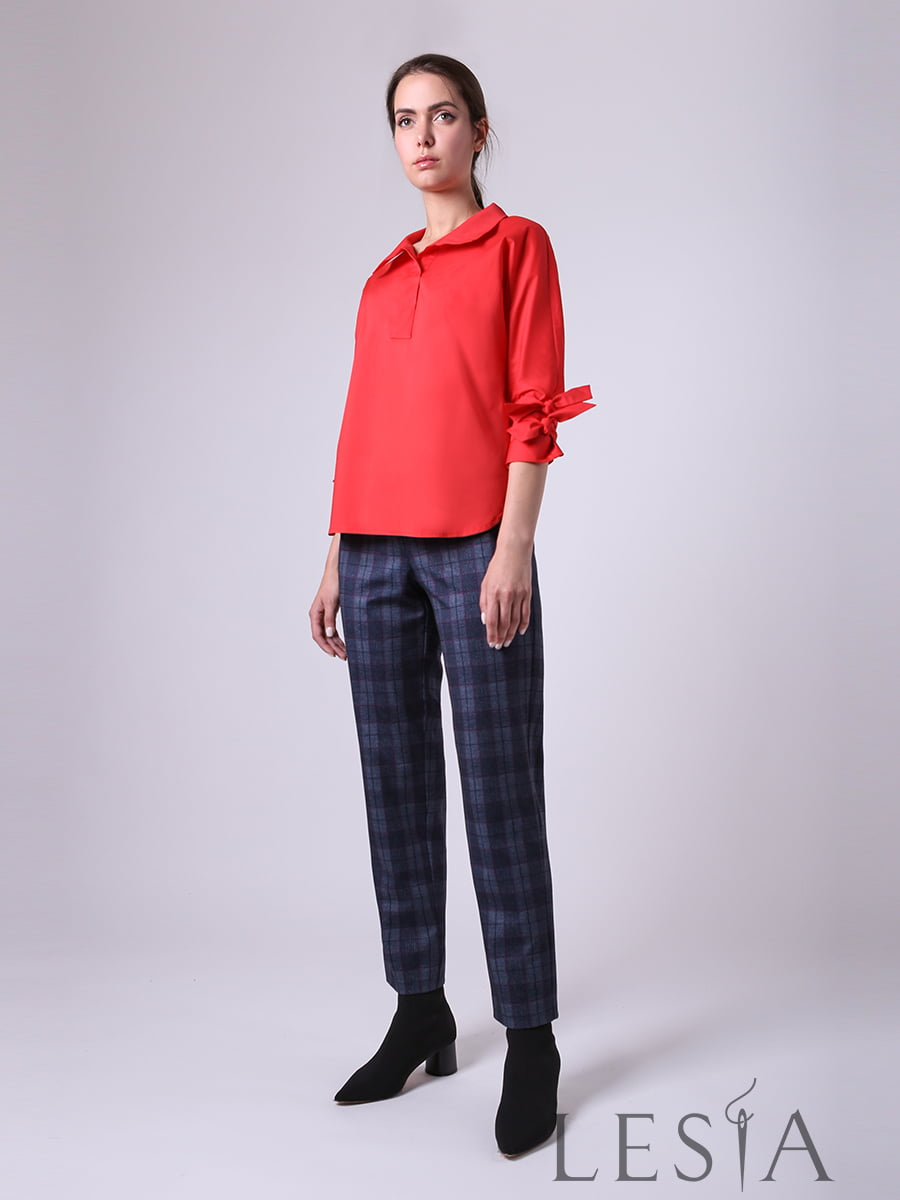 Блуза красная | 5533076