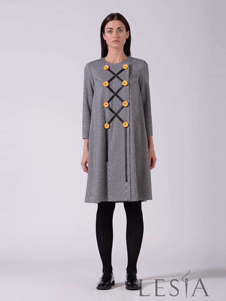 Платье серое | 5593374
