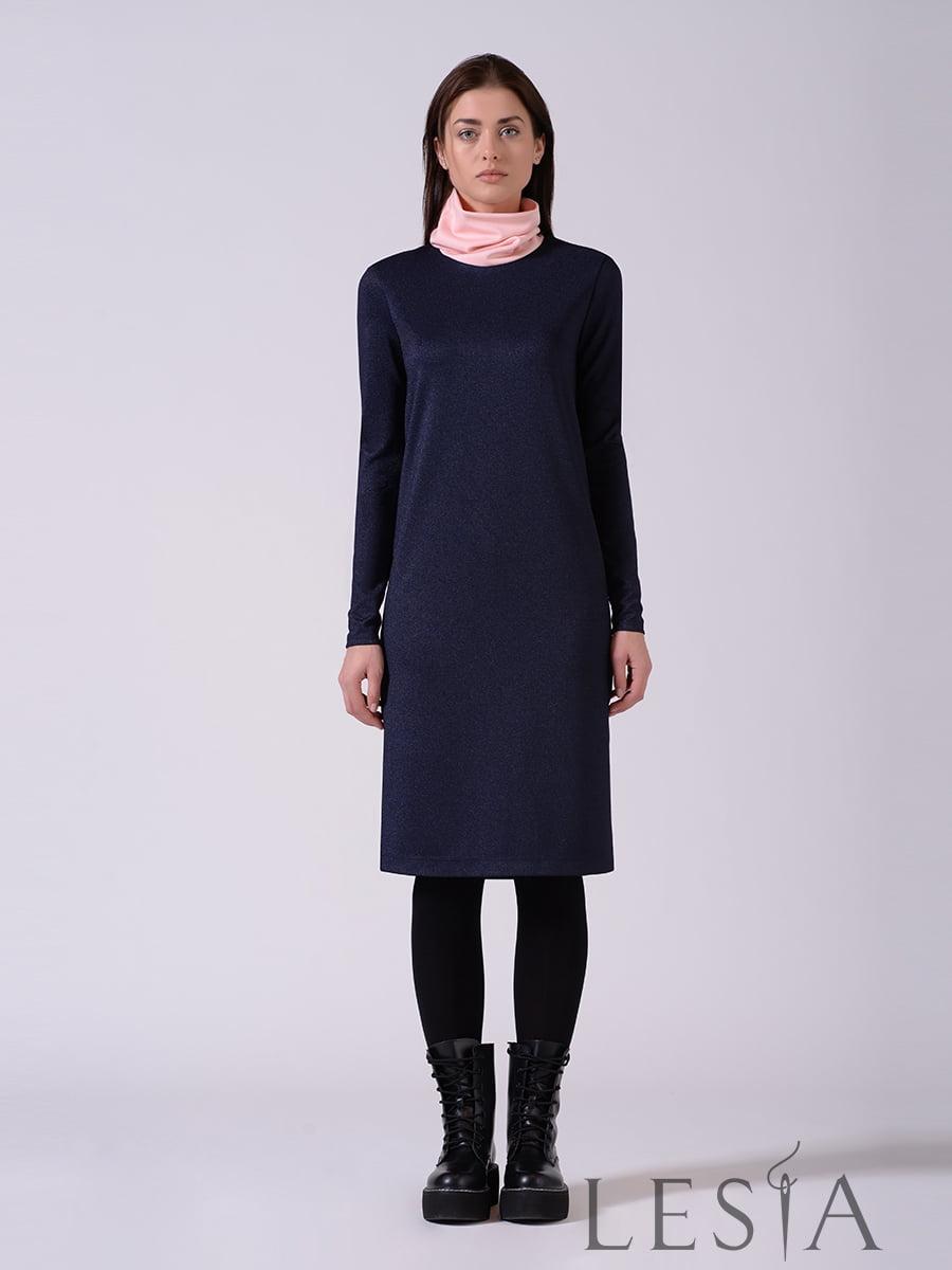 Платье синее | 5593377