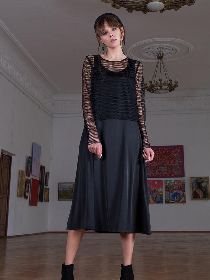 Платье черное   5593427