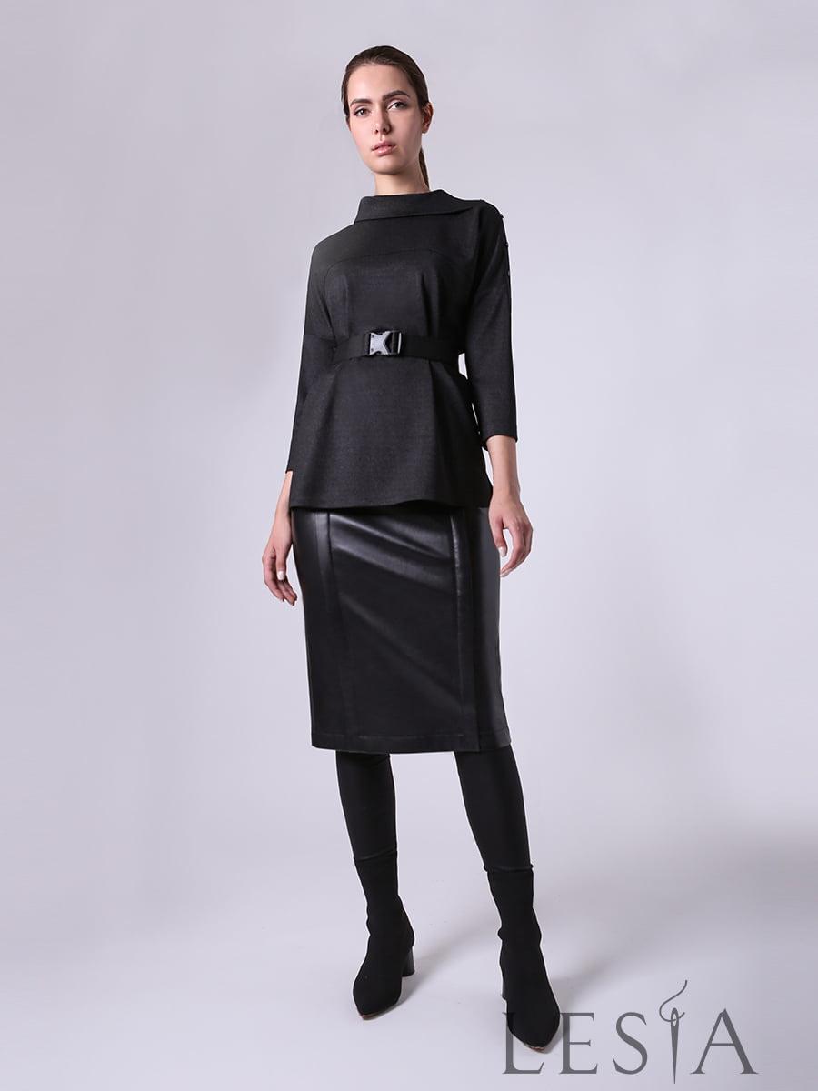 Блуза черная | 5661858