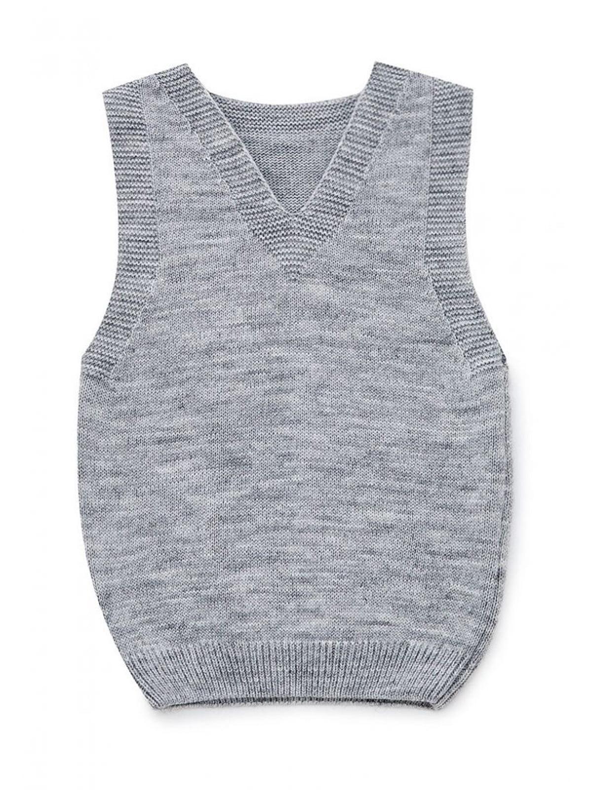 Жилет серый | 5663096