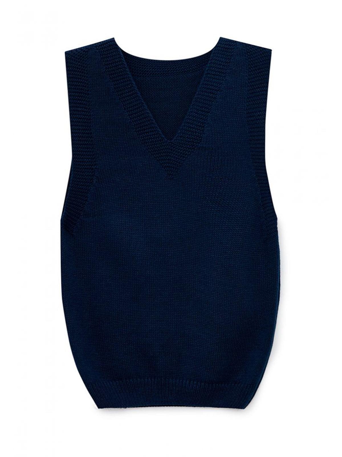 Жилет темно-синий | 5663097
