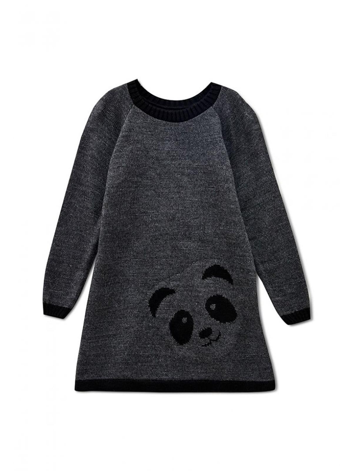 Платье темно-серое | 5663207