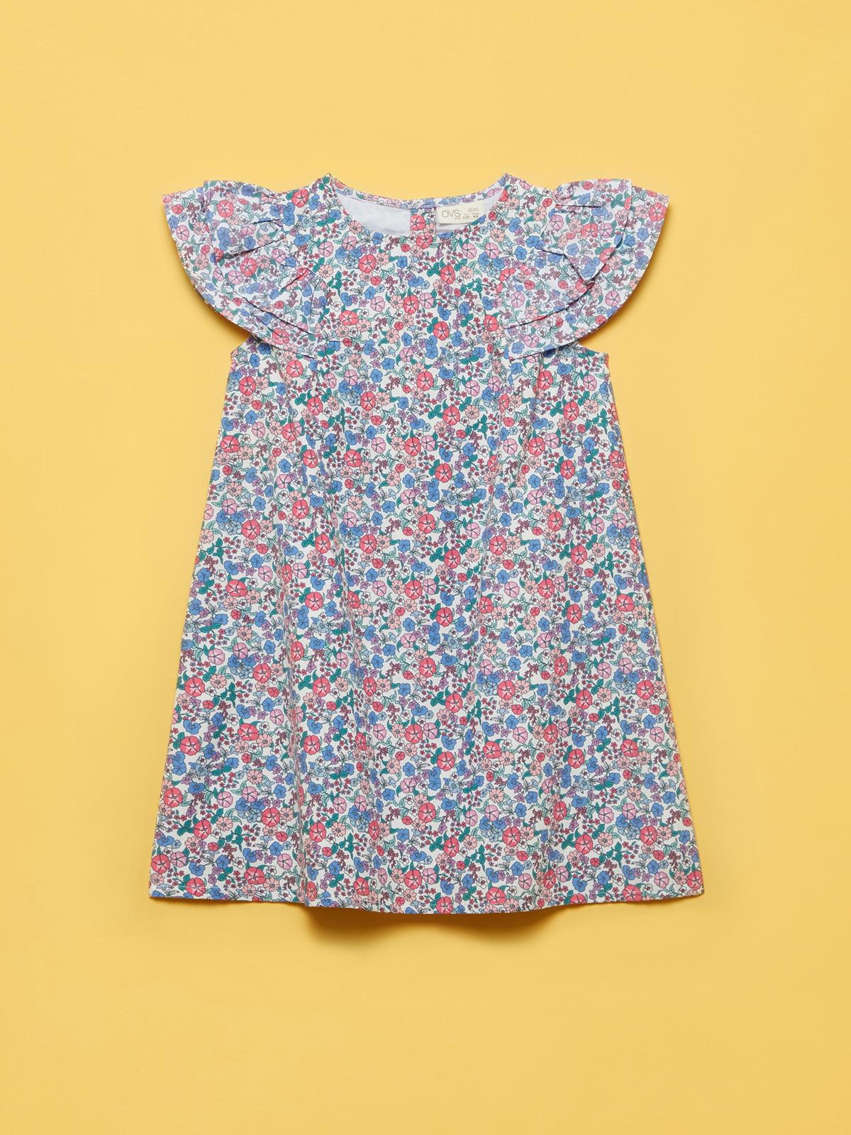 Платье в цветочный принт | 5651039