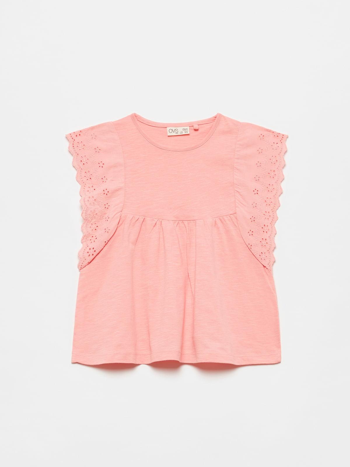 Блуза цвета пудры | 5651128