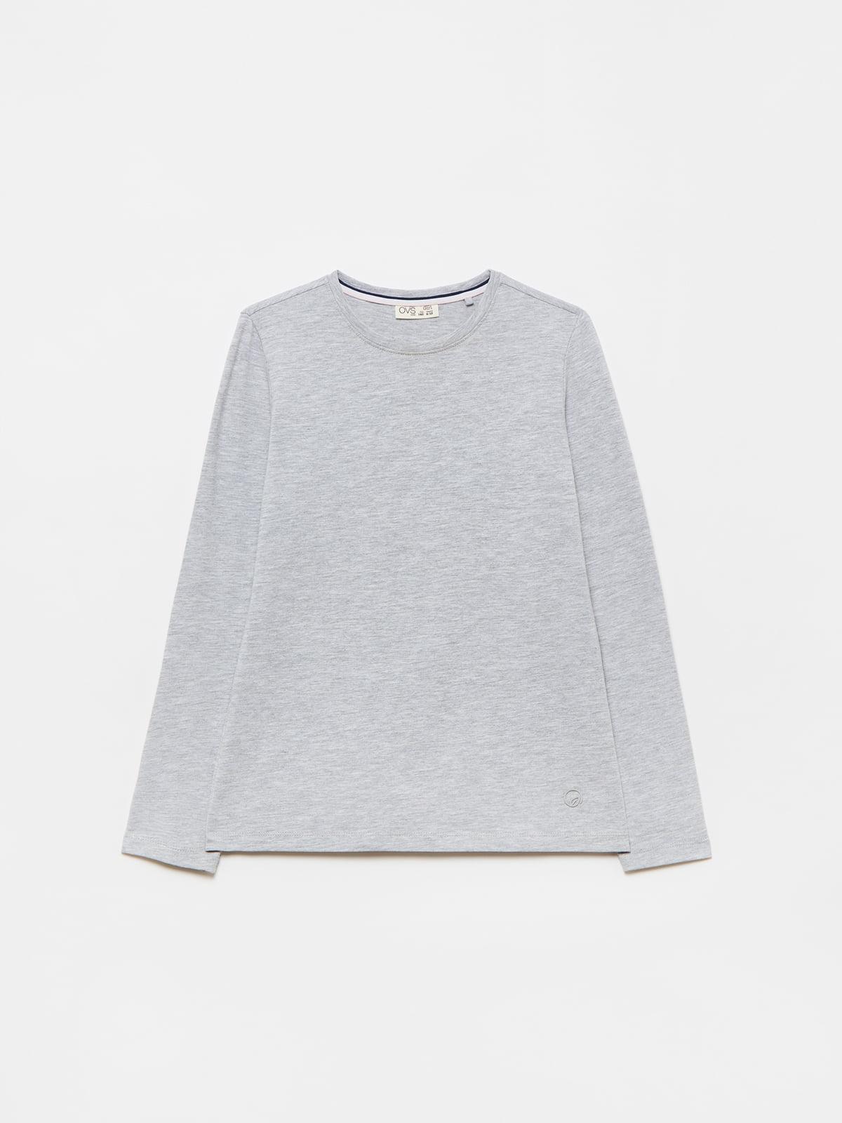 Лонгслив серый   5651176
