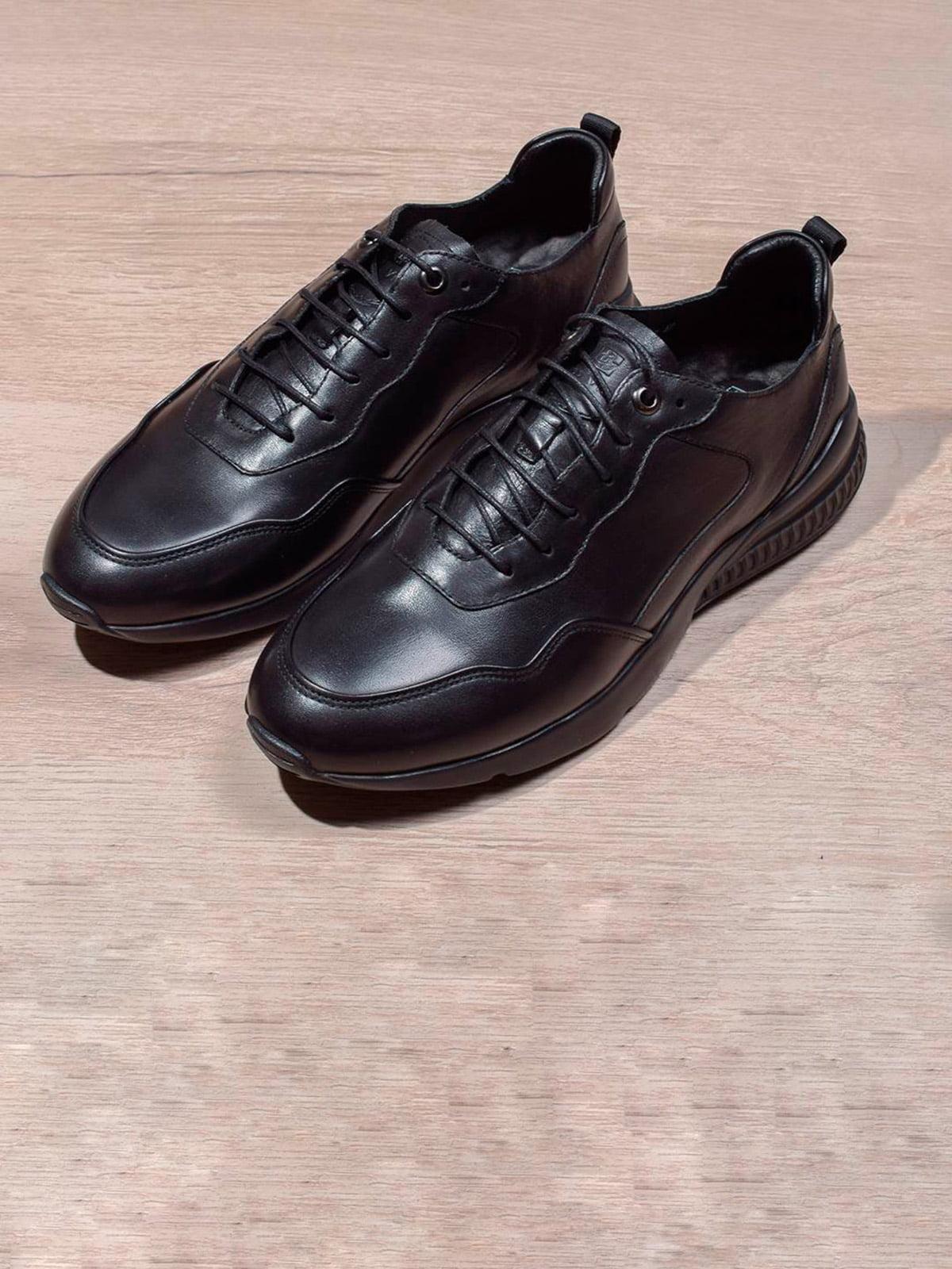 Кросівки чорні | 5642620