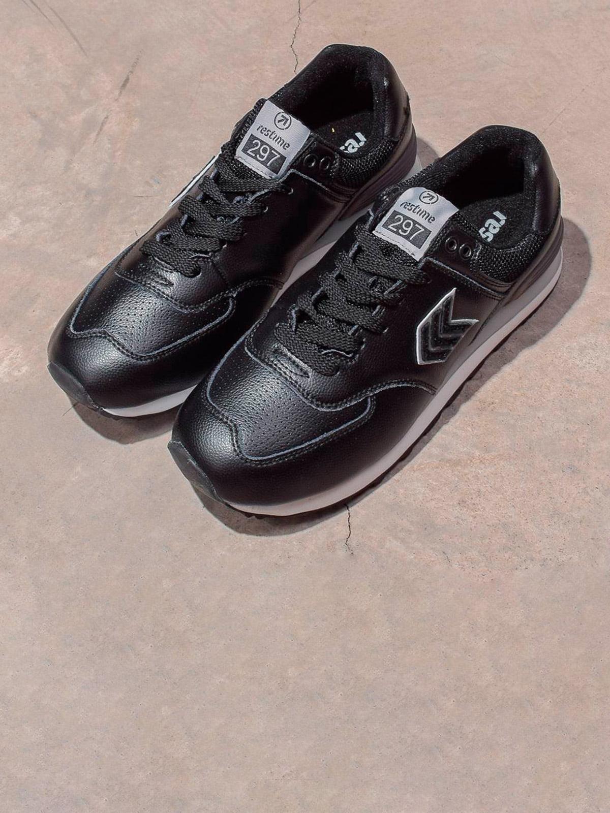 Кросівки чорні | 5642624