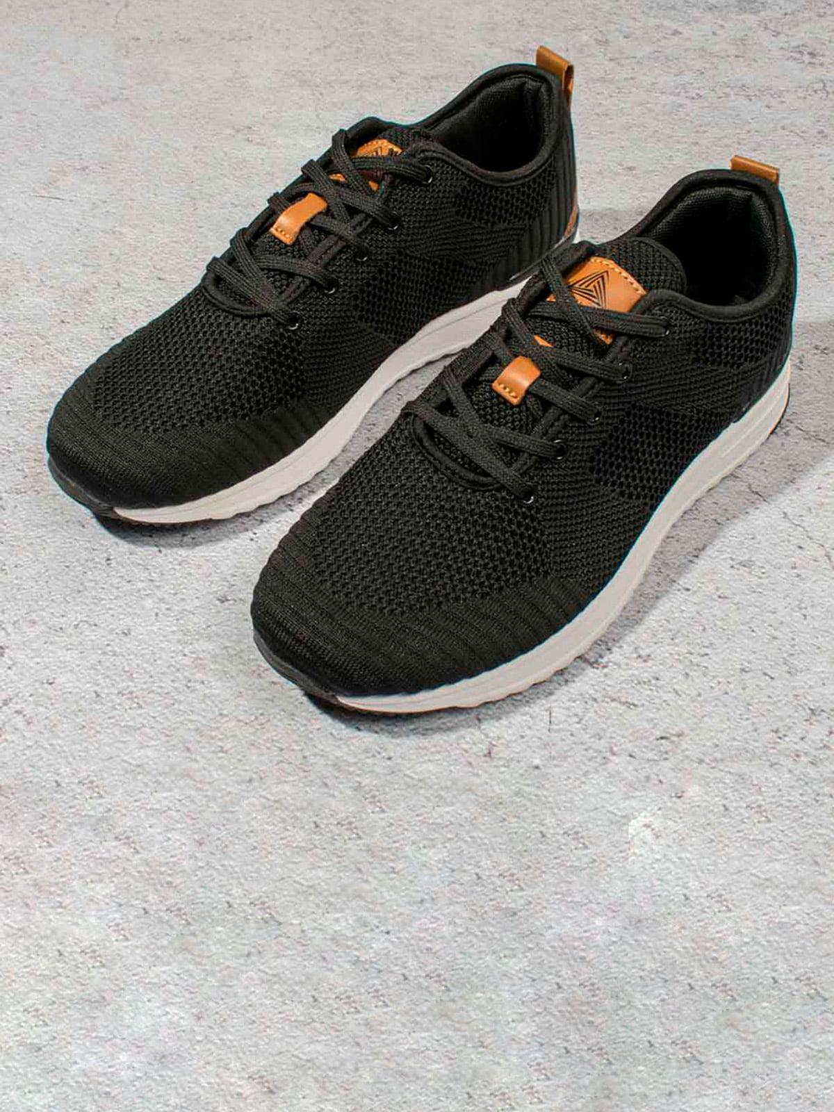 Кросівки чорні | 5643200