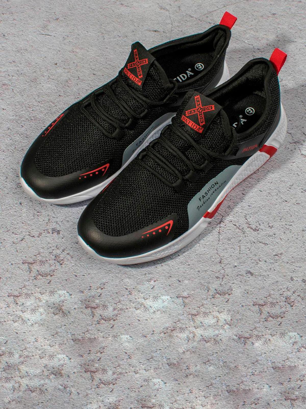 Кросівки чорні | 5643260