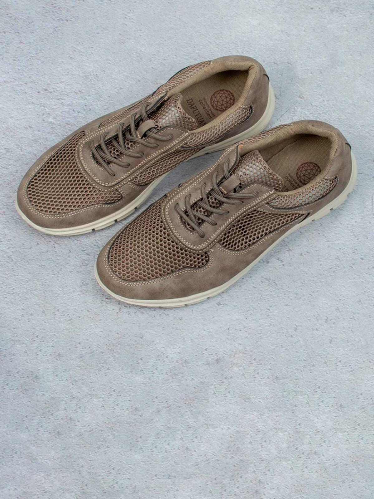 Кросівки коричневі | 5643371