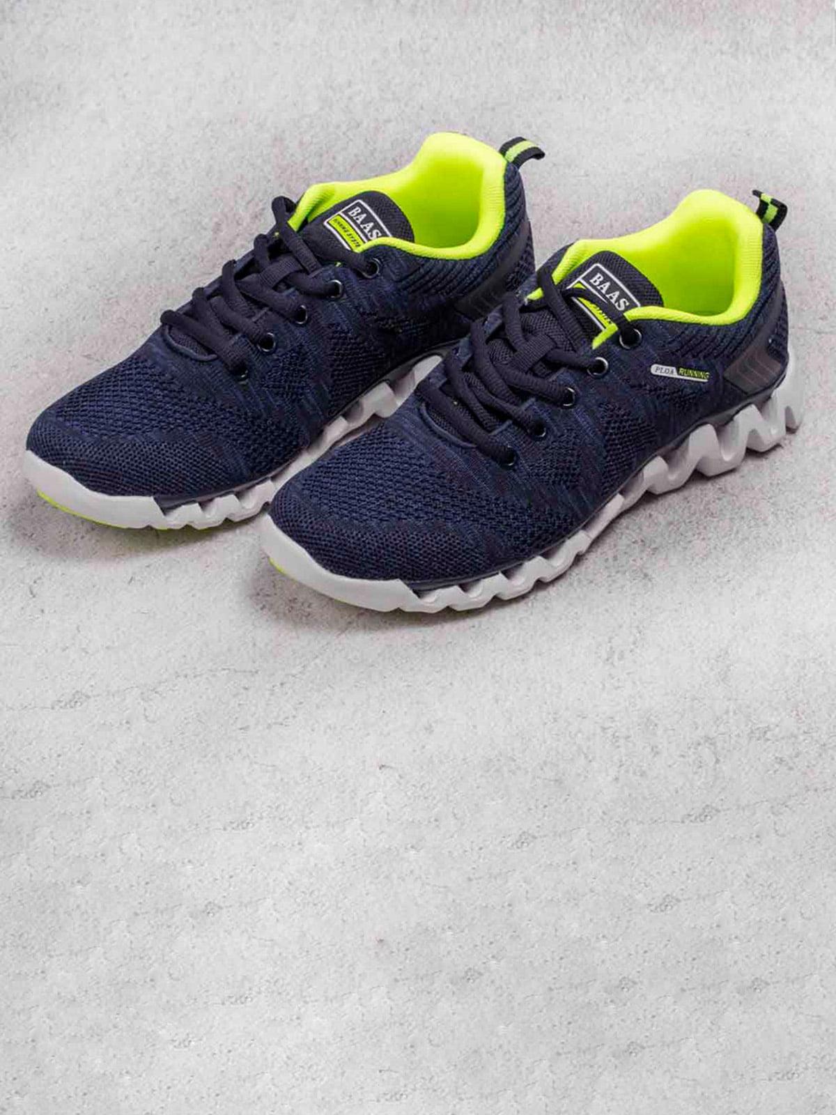 Кроссовки синие | 5643457
