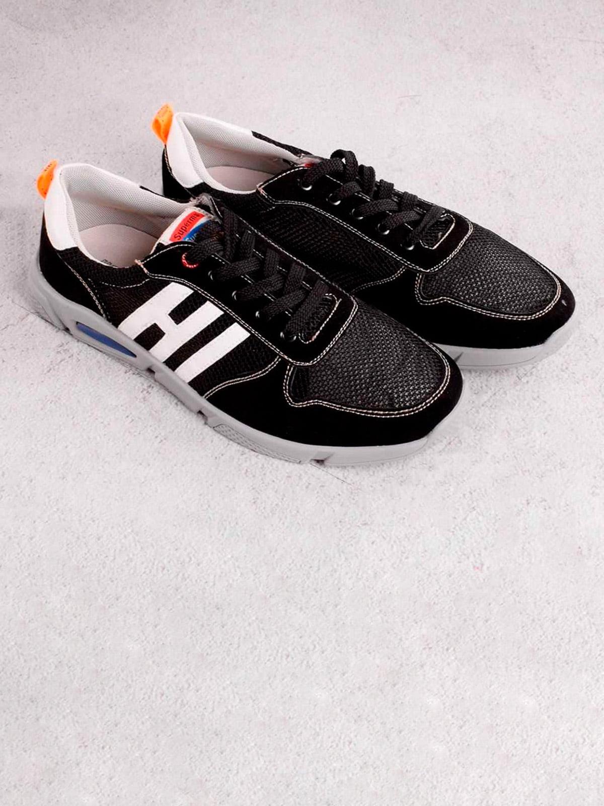 Кроссовки черные | 5643531