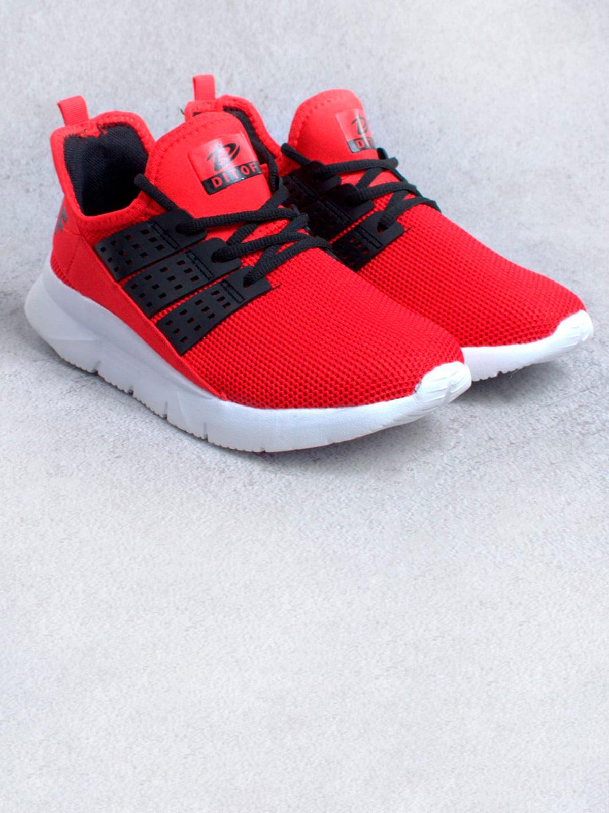 Кросівки червоні | 5643981