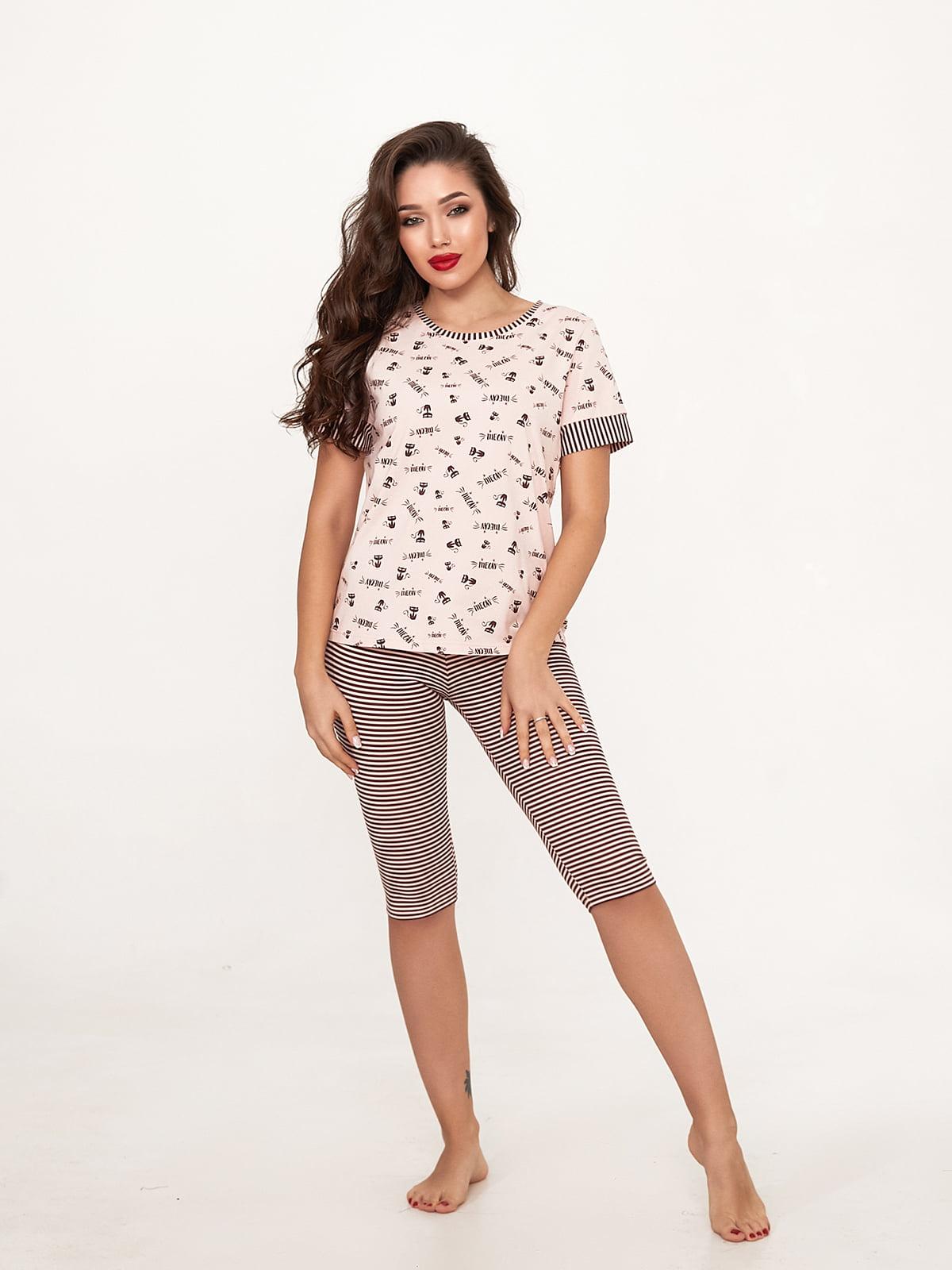 Комплект: футболка та бриджі | 5666604