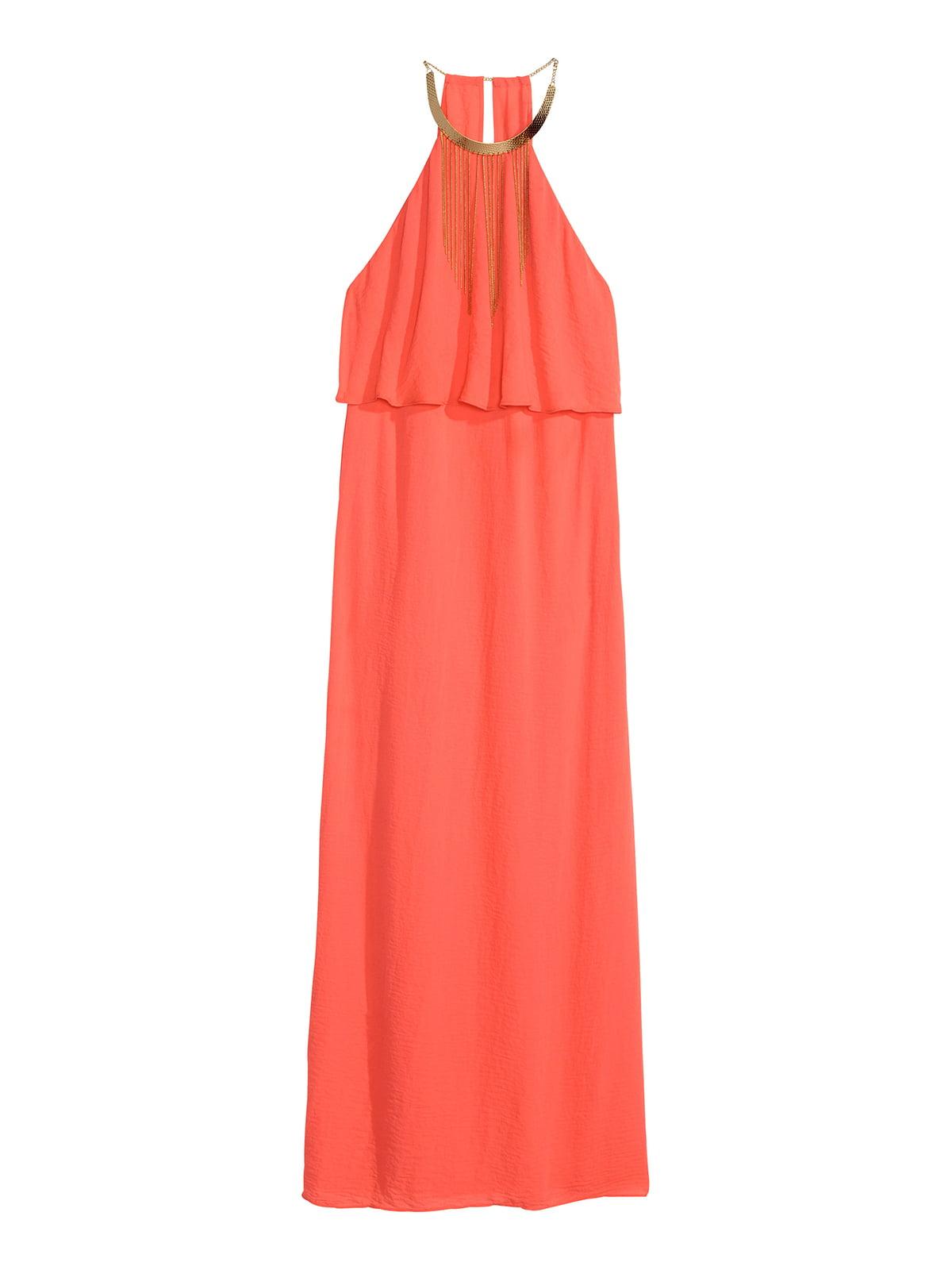 Платье персикового цвета | 5039616