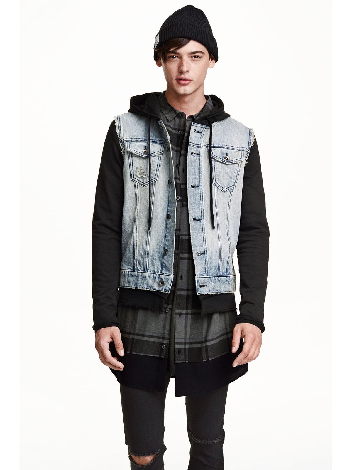 Куртка джинсовая голубая   5235375