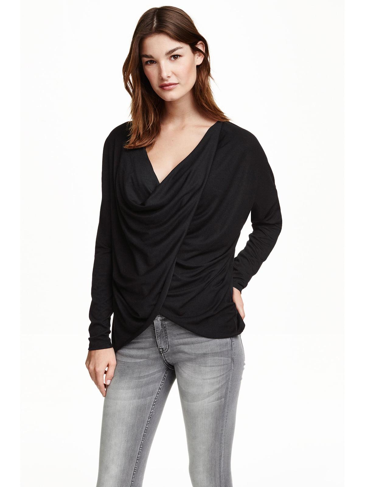 Блуза чорна | 5239803