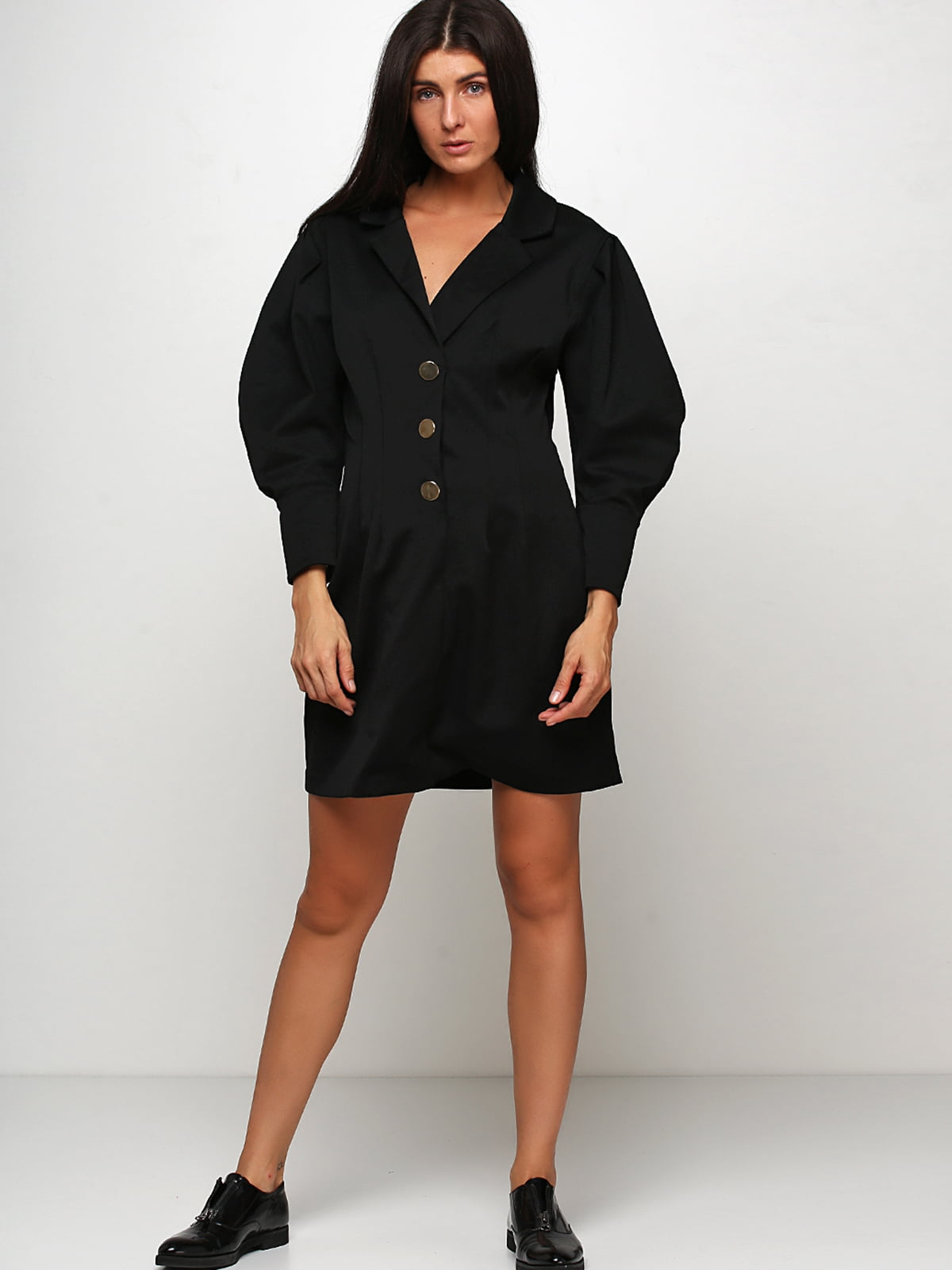 Пальто чорне | 5239859
