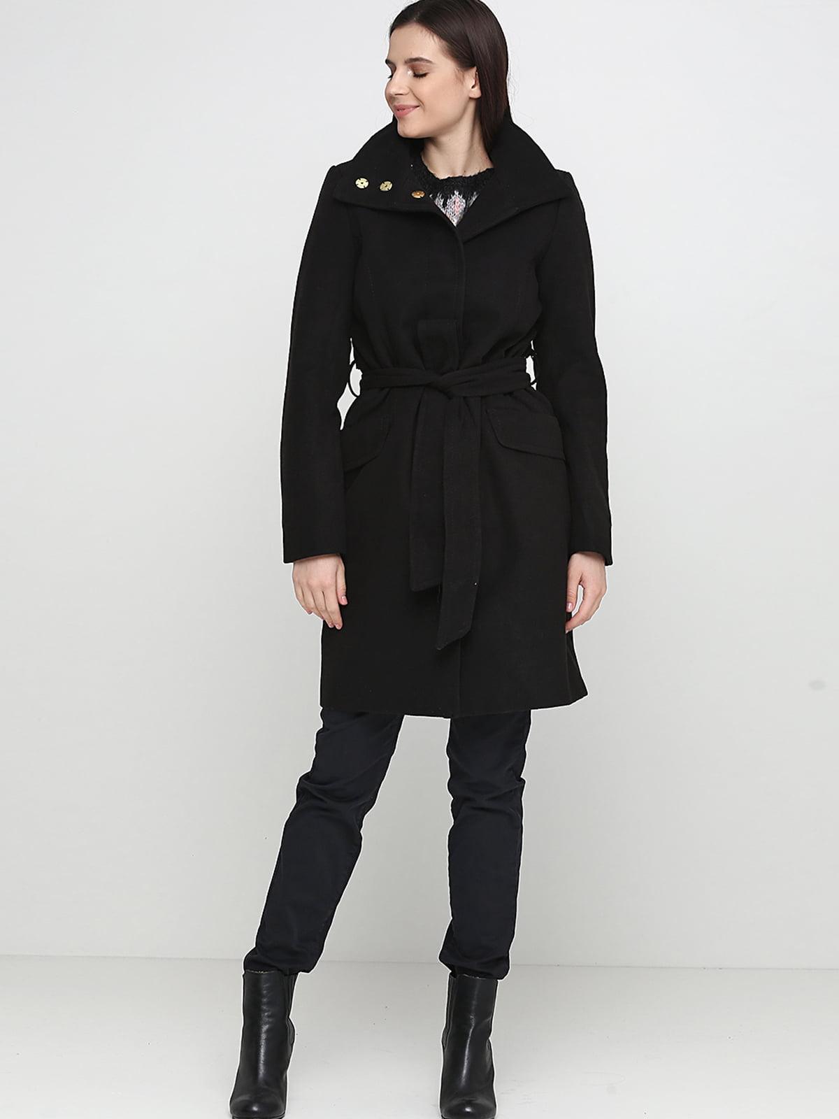 Пальто чорне | 5666661