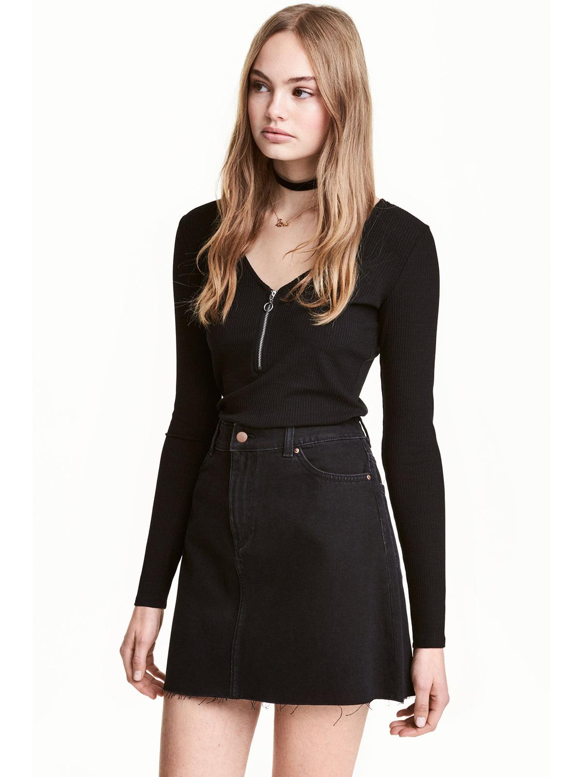 Пуловер чорний | 5666779