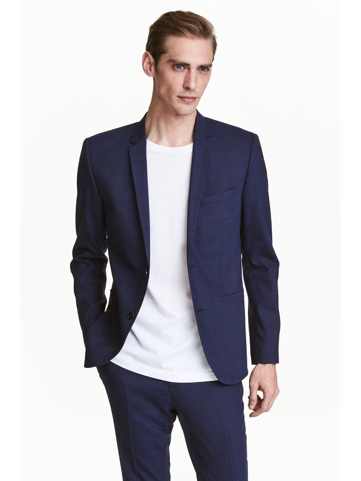 Пиджак синий | 5666805