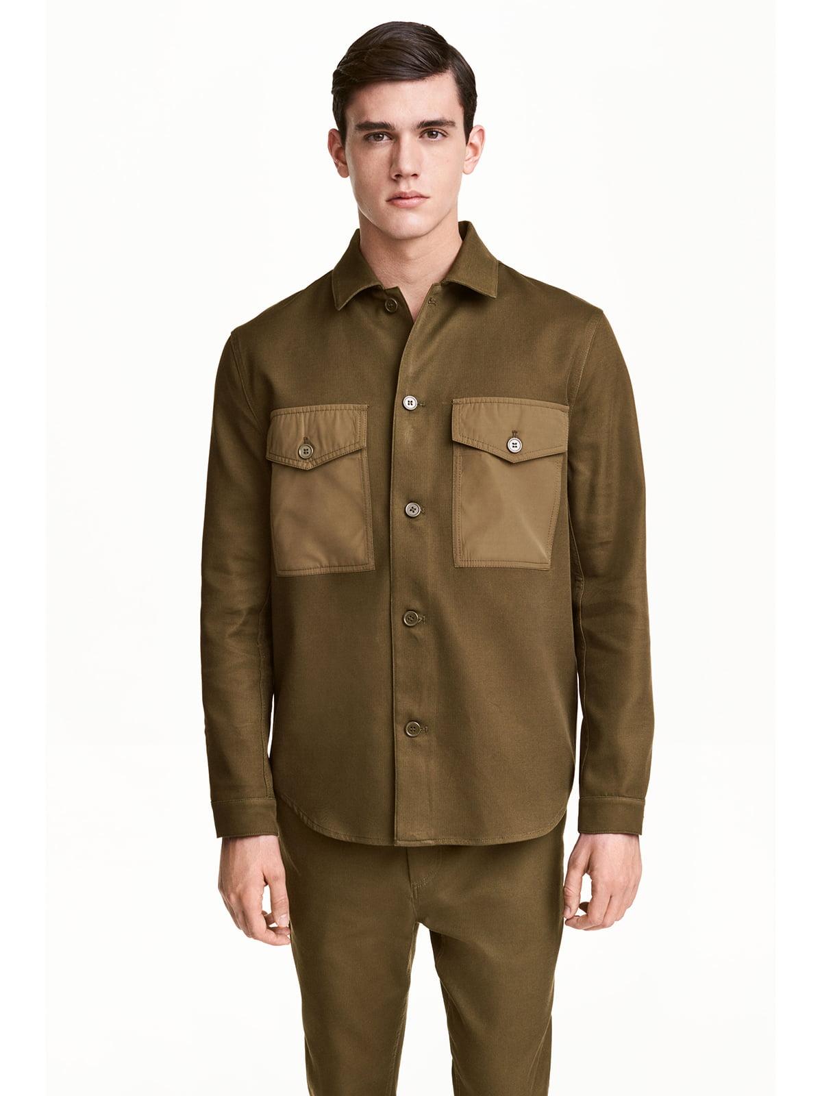 Піджак кольору хакі | 5666875