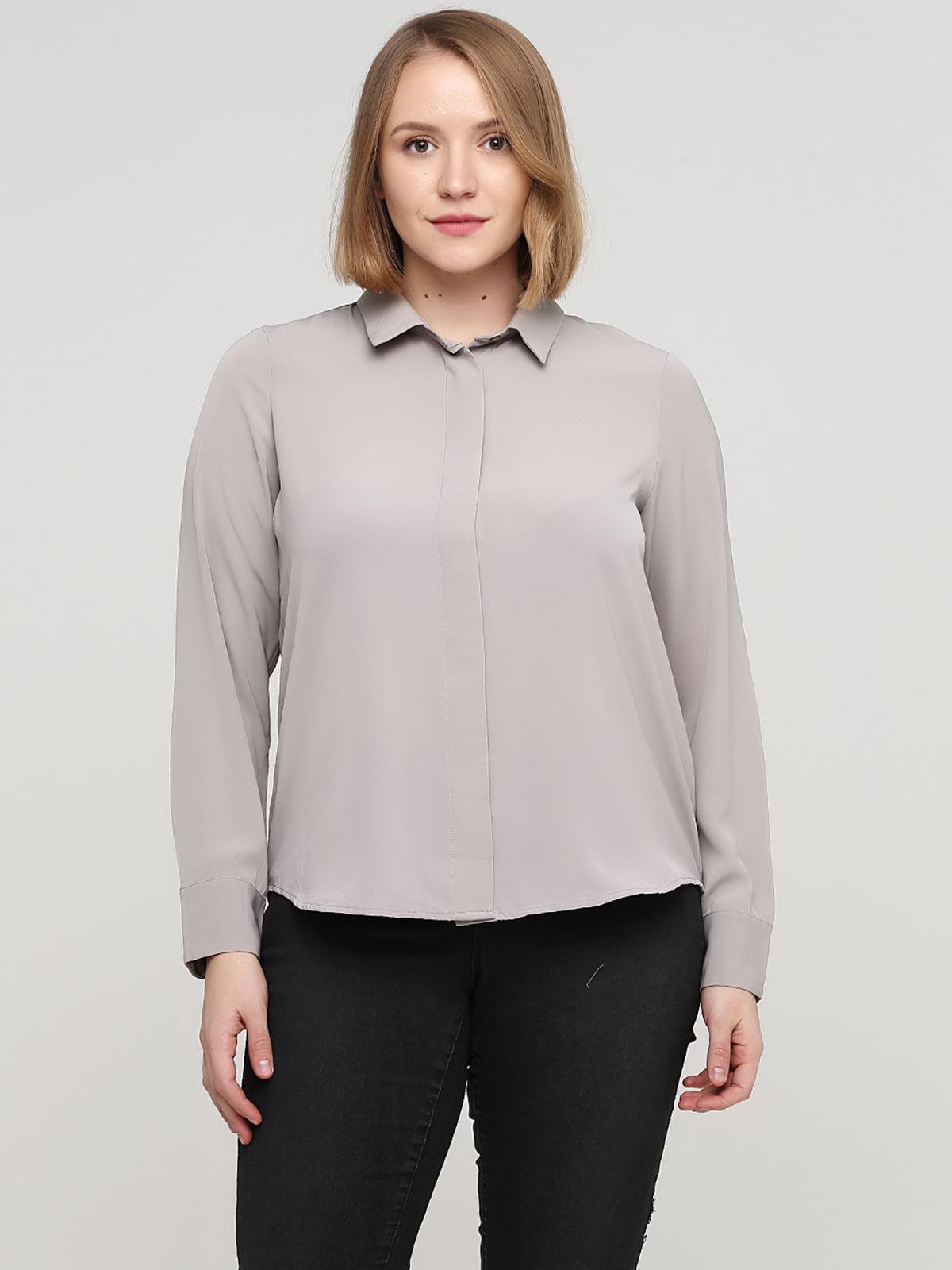 Рубашка сиреневого цвета | 5666965