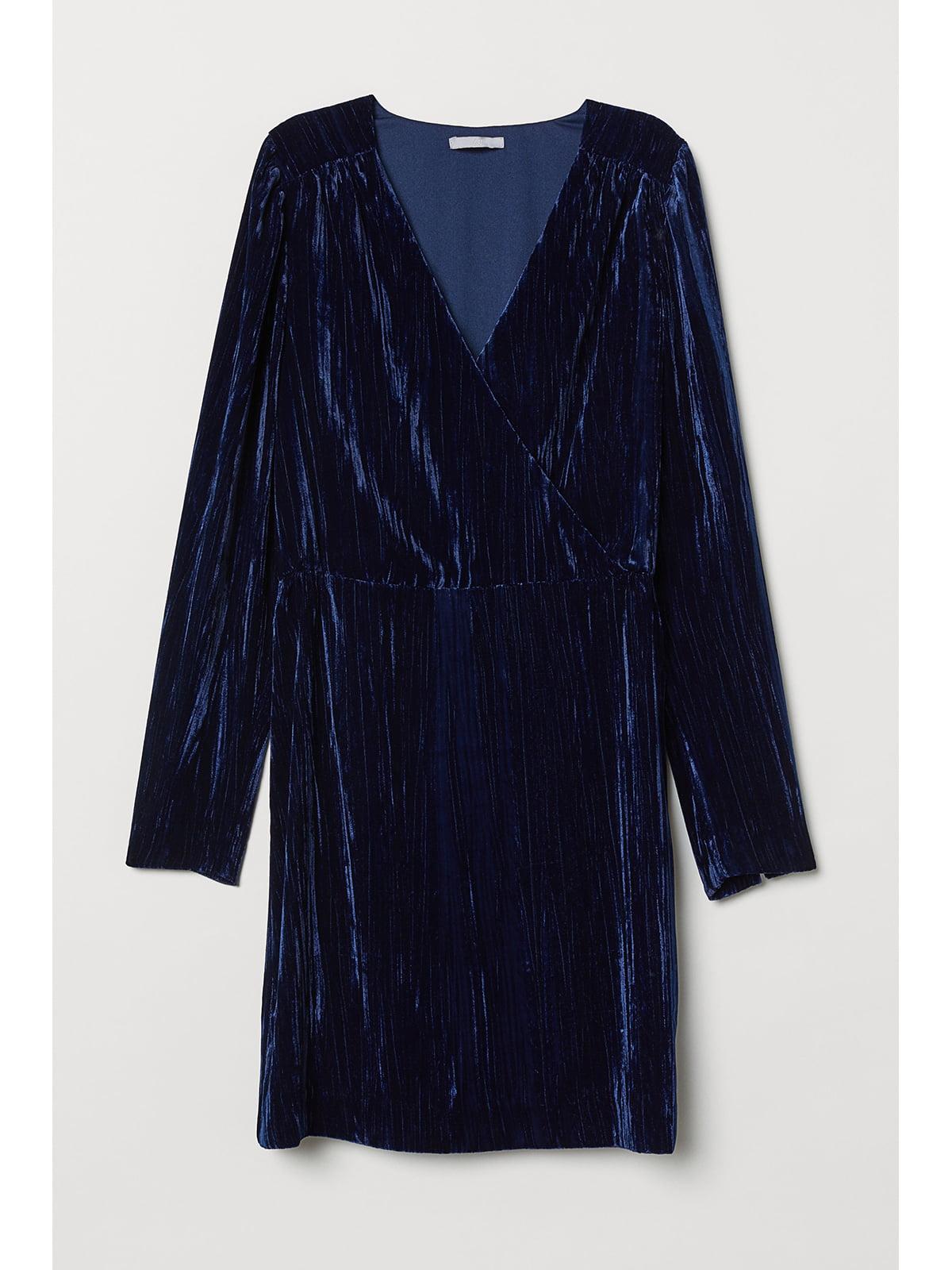 Платье темно-синее   5667216