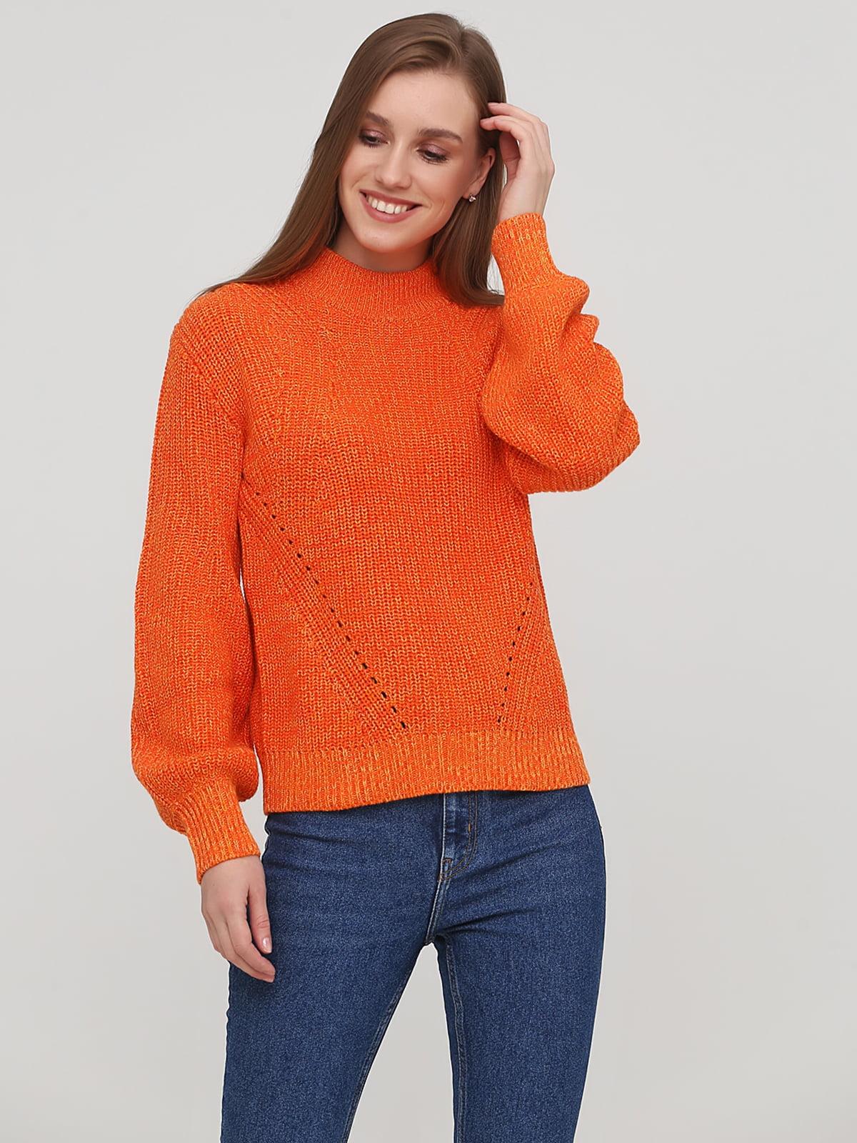 Джемпер помаранчевого кольору   5667266