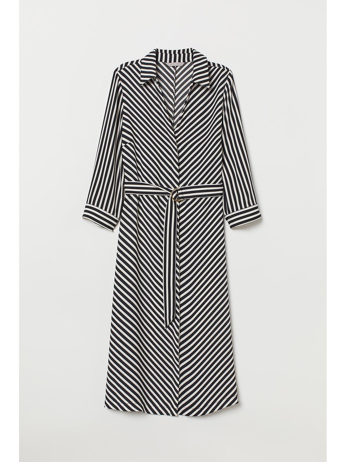 Сукня чорно-біла в смужку   5667358