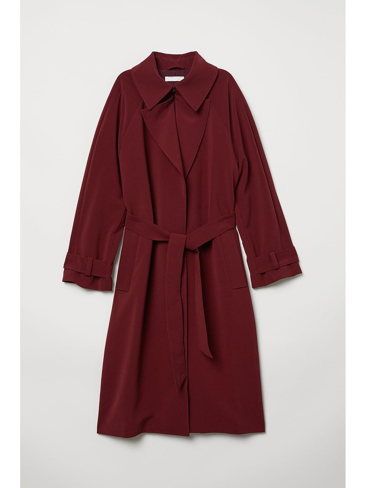Пальто бордове | 5667396