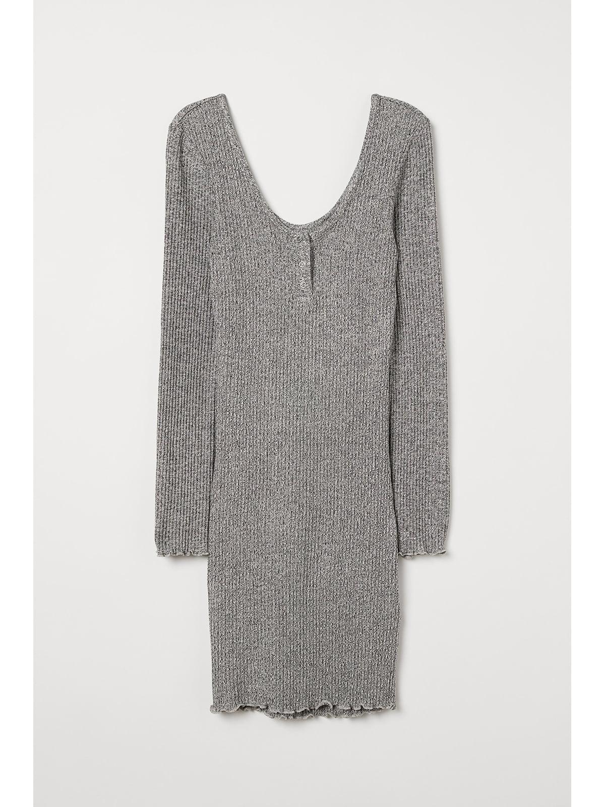 Платье серое | 5667397