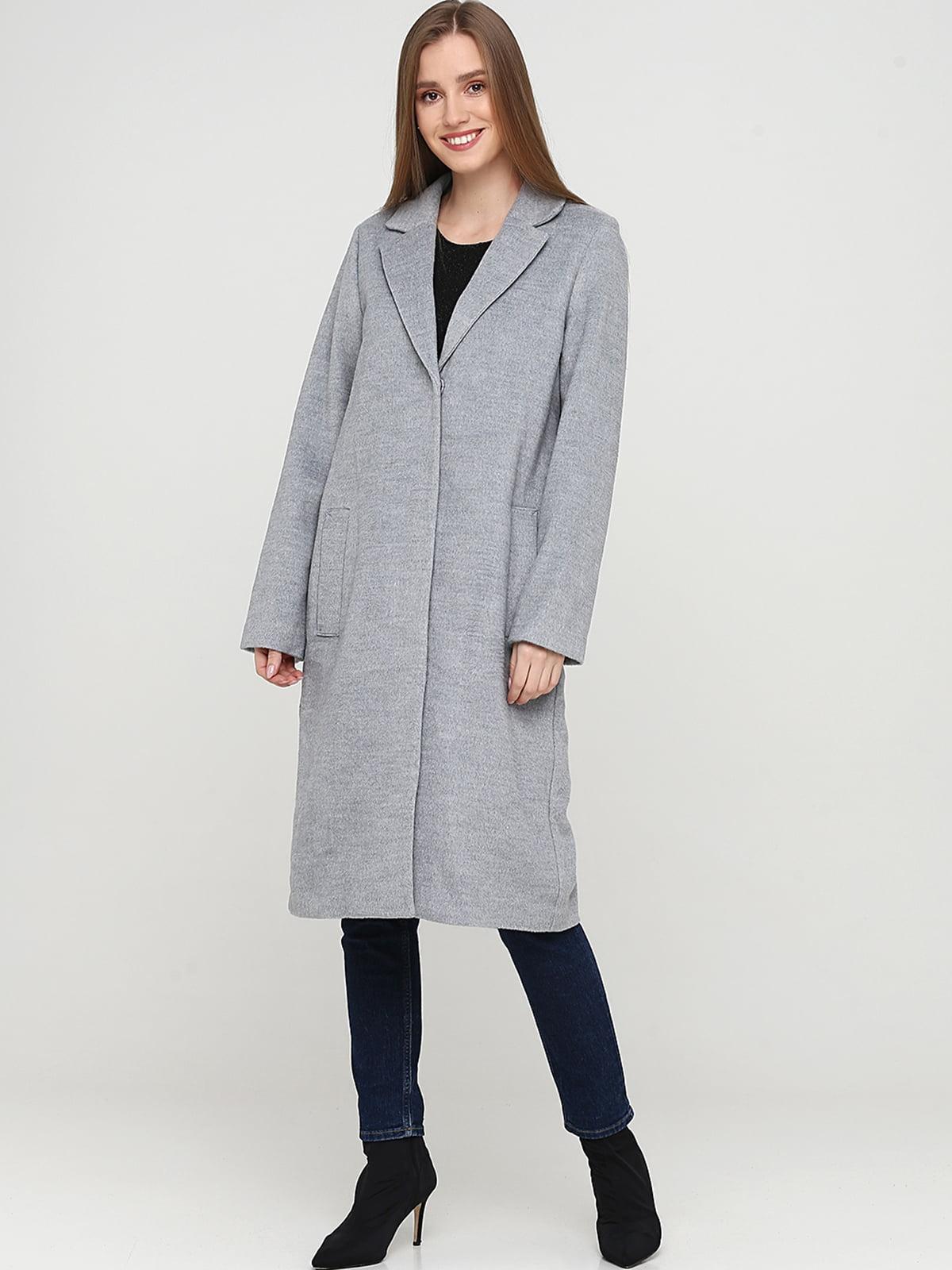 Пальто серое | 5667465