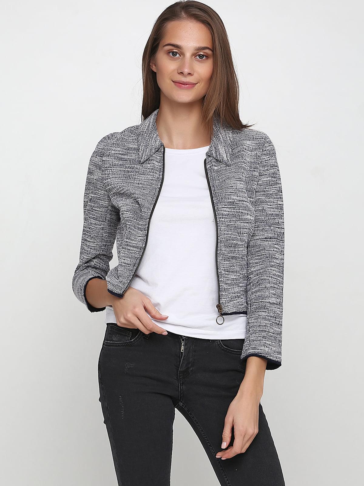Куртка сіра | 5239488