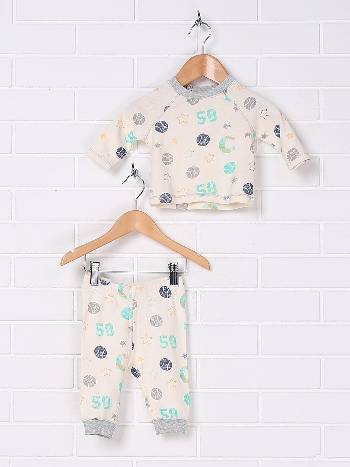 Пижама: лонгслив и брюки | 5667961