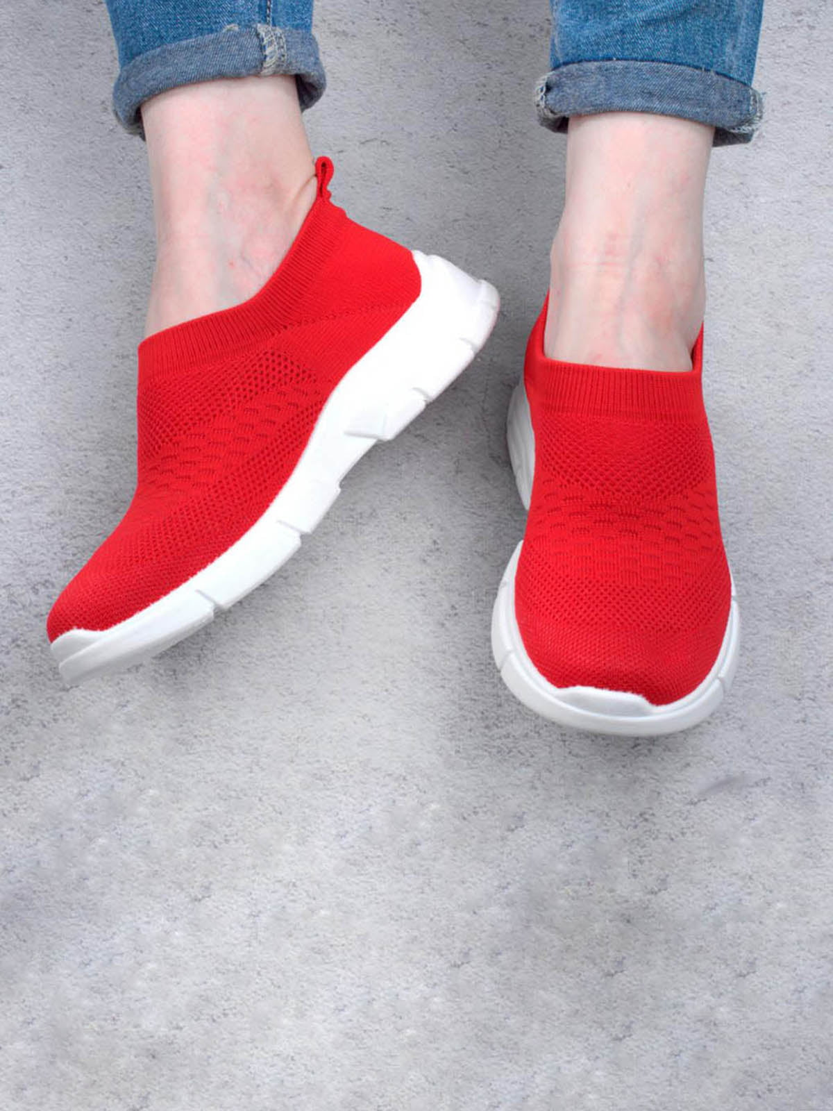 Кроссовки красные | 5643794