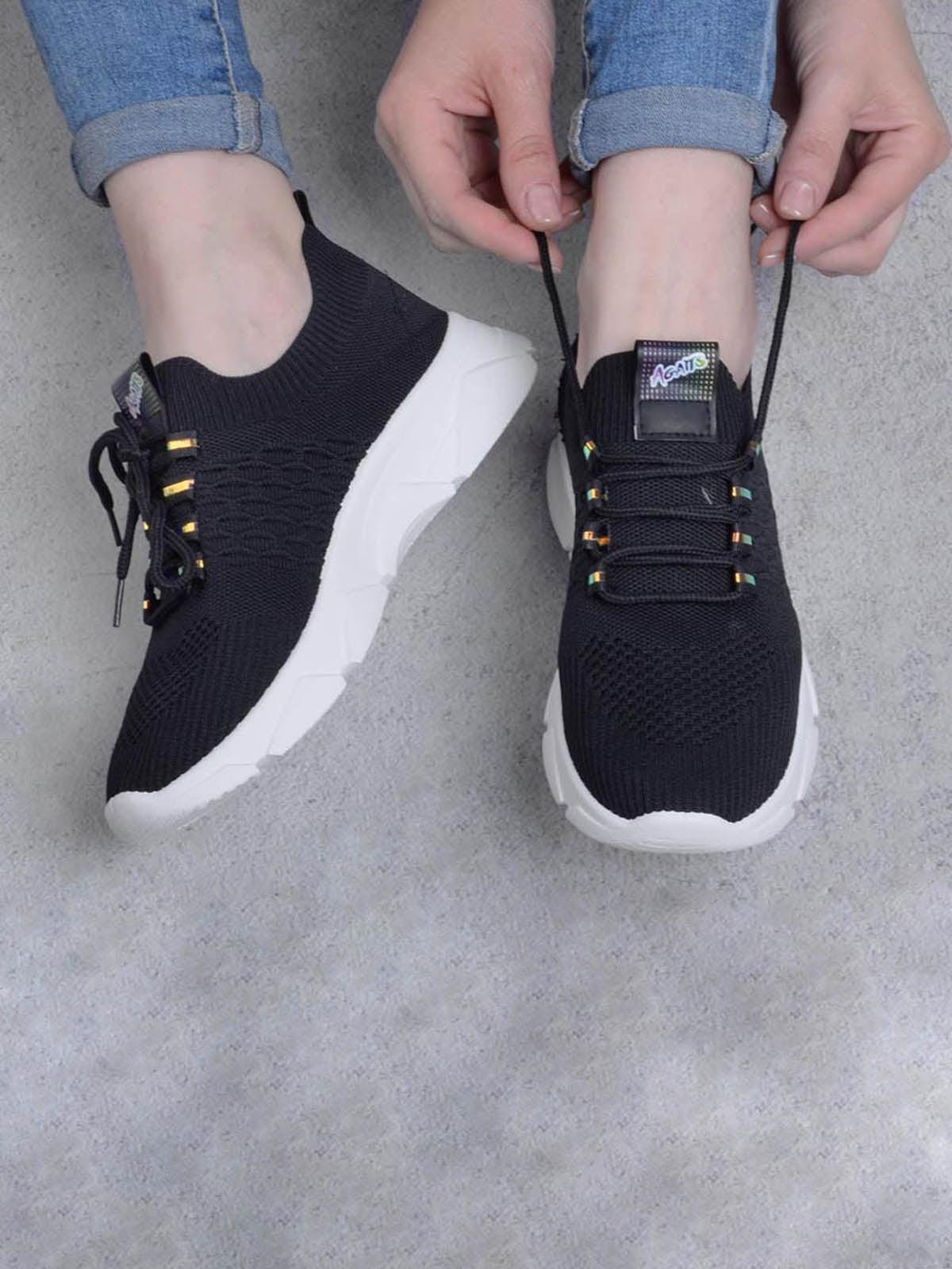 Кроссовки черные | 5643826
