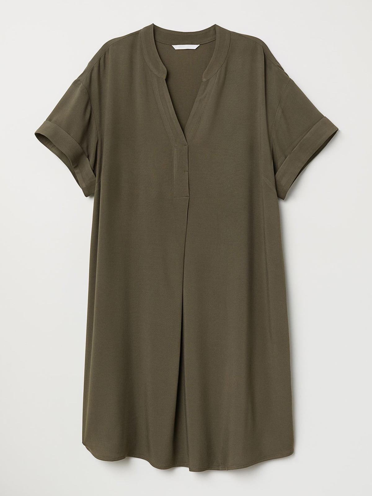 Сукня кольору хакі | 5632610