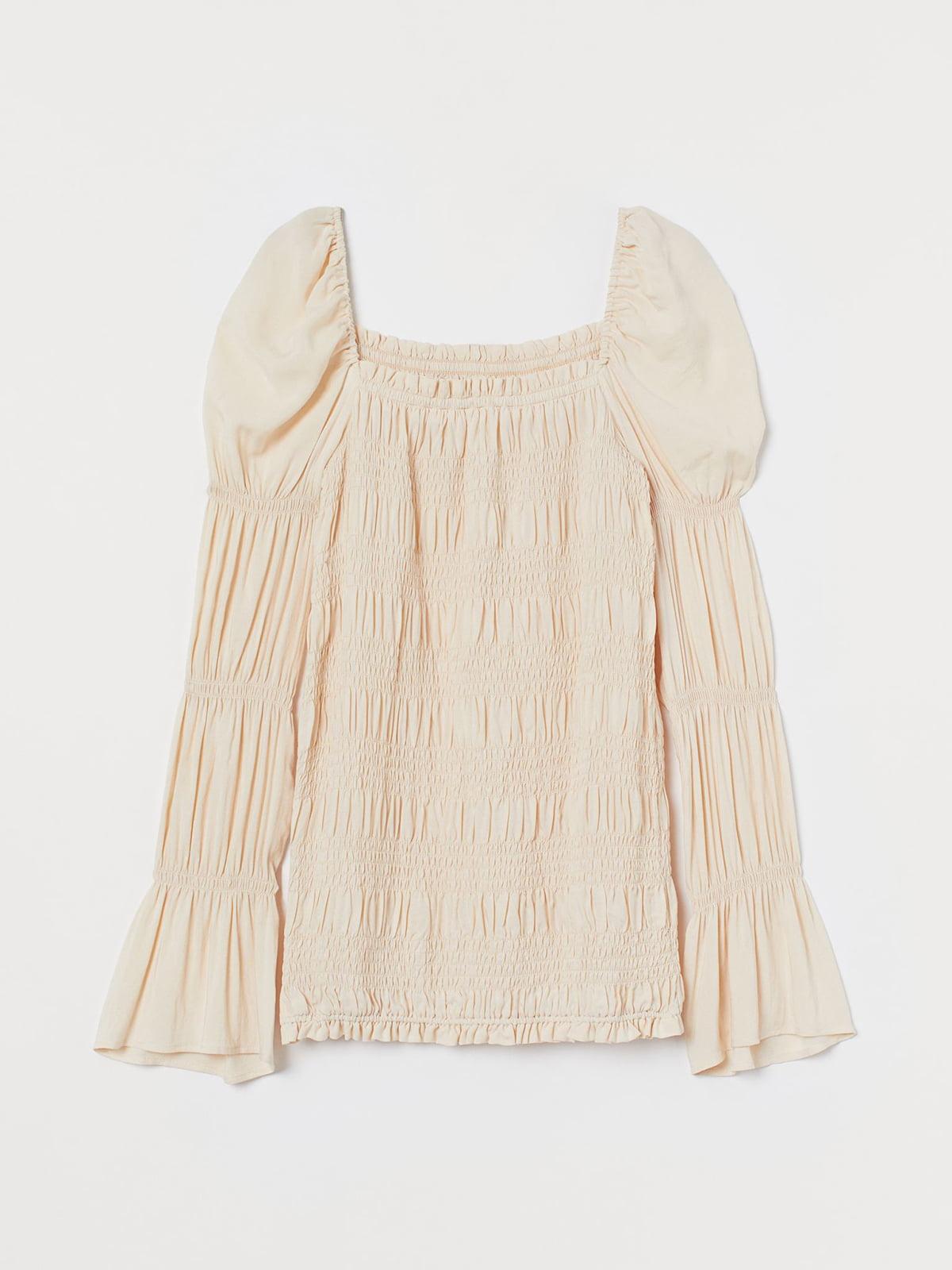 Блуза для вагітних світло-бежева | 5632724