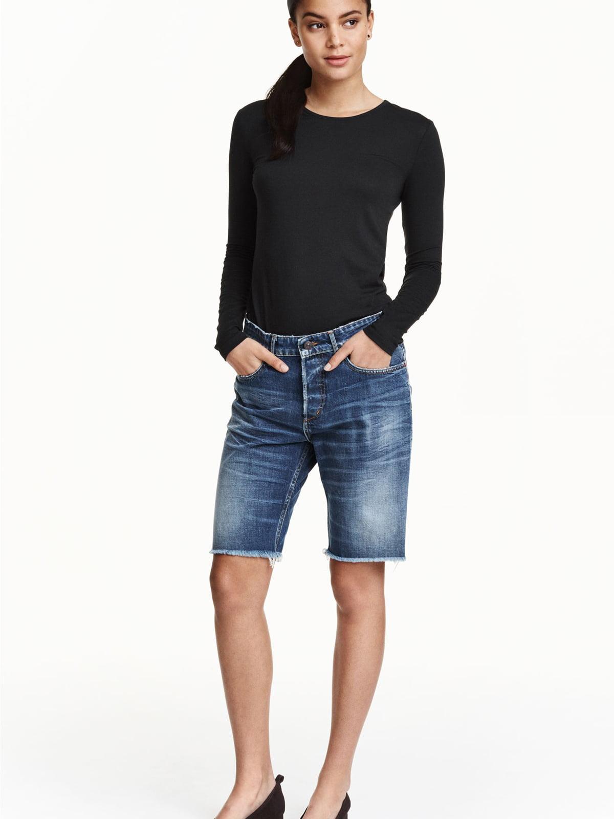 Шорти сині джинсові | 5676809