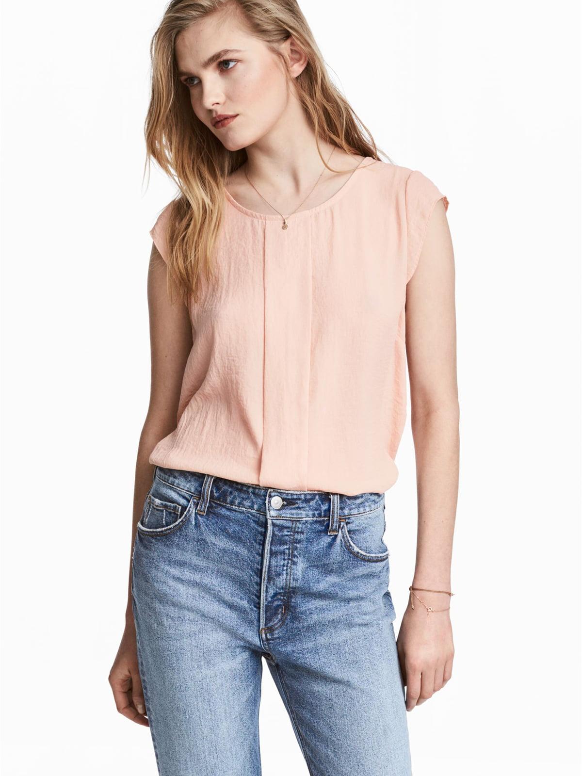 Блуза кольору пудри   5676959