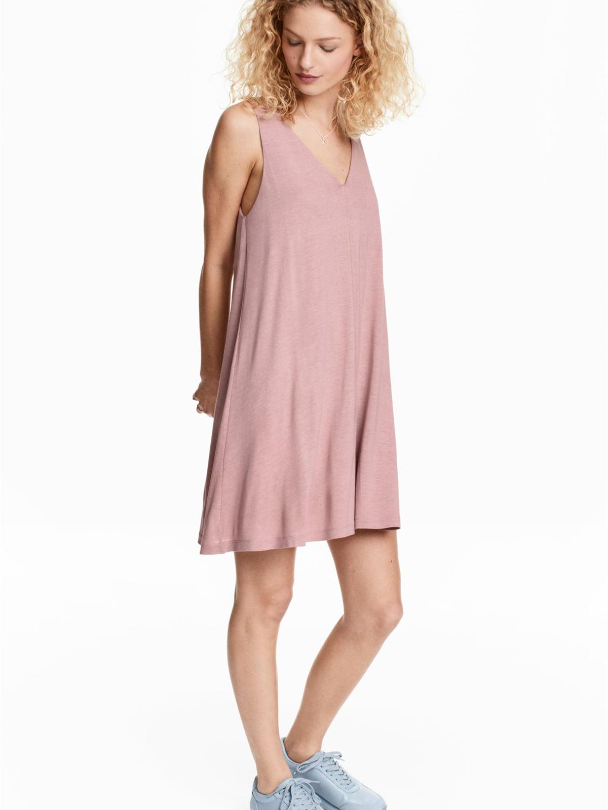 Сукня кольору пудри | 5676999