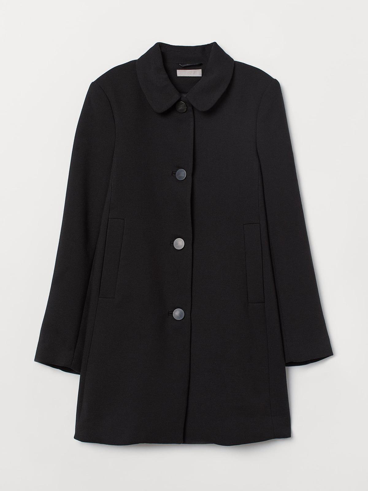 Пальто черное | 5677316